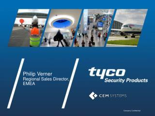 Philip Verner Regional Sales Director, EMEA