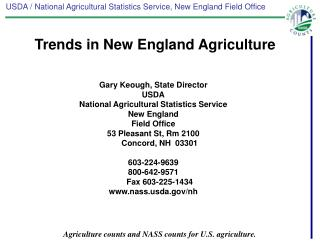 Gary Keough, State Director USDA
