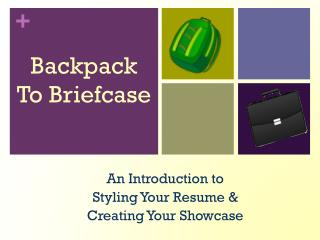 Backpack To Briefcase