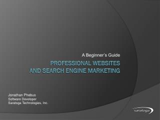 Professional Websites and Search Engine Marketing