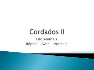 Cordados II