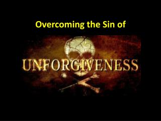 Overcoming the Sin of