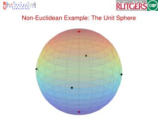 Non-Euclidean Example: The Unit Sphere