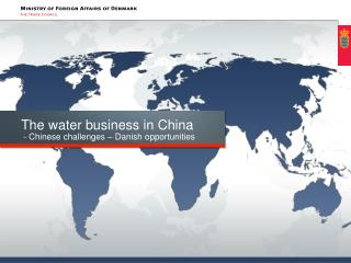 The water business in China