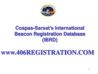 Cospas-Sarsat's International Beacon Registration Database (IBRD)