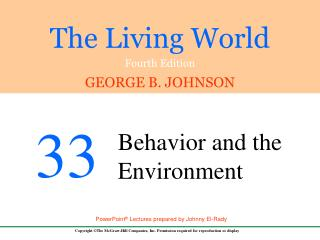 33.1  Approaches to the Study of Behavior