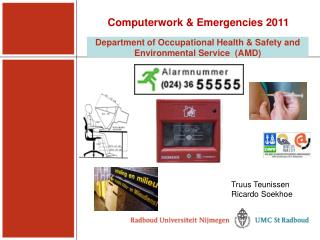 Department of Occupational Health & Safety and Environmental Service   (AMD)
