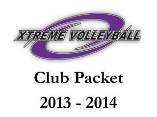 Club Packet 2013 - 2014