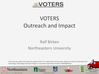 VOTERS Outreach and Impact