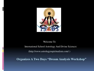 "A Two Days workshop On Dream Analysis By ""Dr. Himani J"""