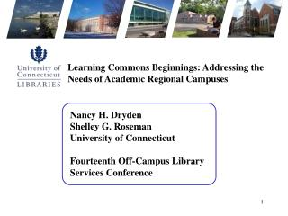 Nancy H. Dryden Shelley G. Roseman University of Connecticut