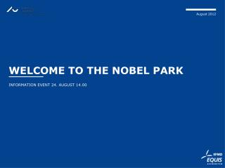 Welcome  to the  Nobel Park