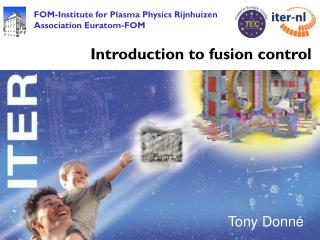 Introduction to fusion control