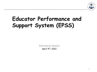 Educator Performance and Support System (EPSS)