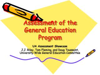 Assessment of the General Education Program