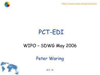 PCT-EDI