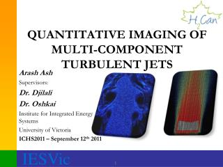 QUANTITATIVE IMAGING OF MULTI-COMPONENT TURBULENT JETS