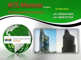 WTC Manesar | WTC Manesar Gurgaon