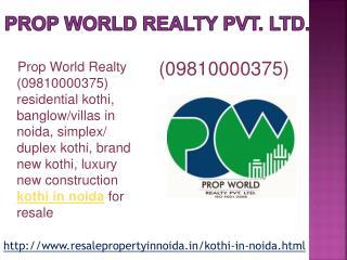 Kothi in Noida, Residential Duplex Kothi in Noida, Brand New
