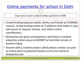 Comparing The Most Popular online payment for school in Delh