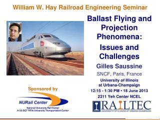 William W. Hay Railroad Engineering Seminar
