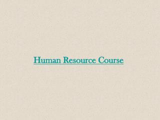HR Training Institute in Hyderabad - Ikyaglobaledu