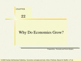 Why Do Economies Grow?