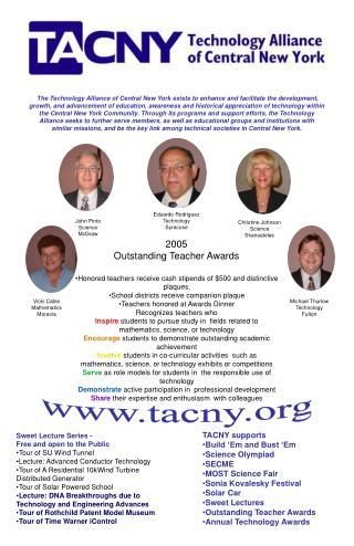 2005  Outstanding Teacher Awards