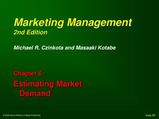 Marketing Management 2nd Edition
