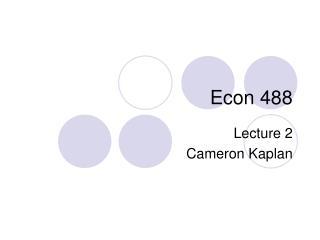 Econ 488