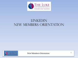 Linkedin new members orientation