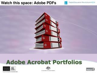 Adobe Acrobat Portfolios