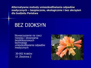 BEZ DIOKSYN
