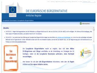 Eine Europäische Bürgerinitiative (EBI) – was ist das?