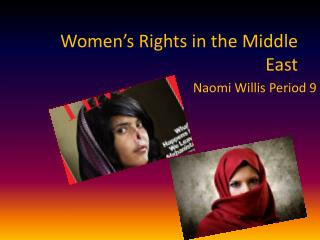 Women's Rights in the Middle East