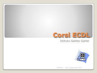Corsi ECDL