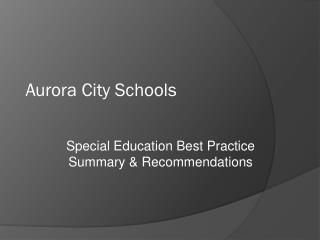 Aurora City Schools