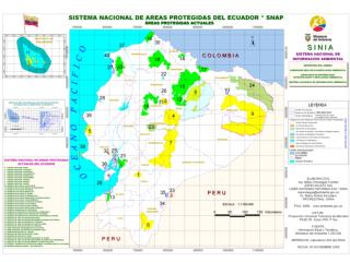 Ecuador Protected Areas