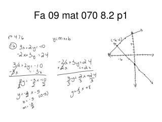 Fa 09 mat 070 8.2 p1