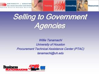 Selling to Government Agencies