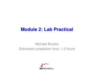Module 2: Lab Practical