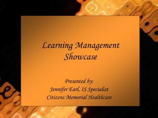Learning Management Showcase