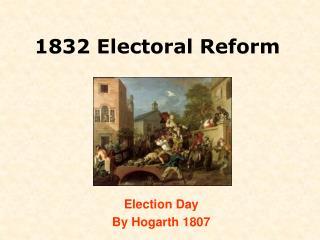 1832 Electoral Reform
