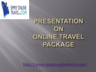 Best site for buy online travel package in UK