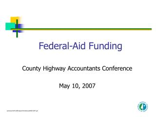 Federal-Aid Funding