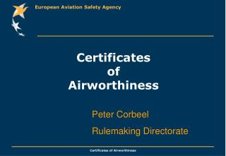 Certificates of Airworthiness