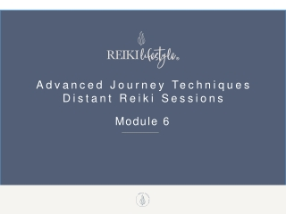 The REIKI Healing Technique