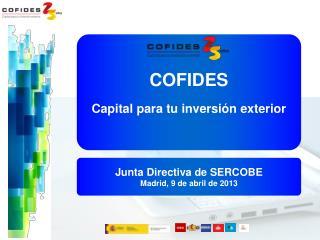 COFIDES Capital para tu inversión exterior