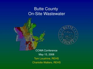 Butte County  On-Site Wastewater
