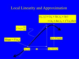 Local Linearity and Approximation